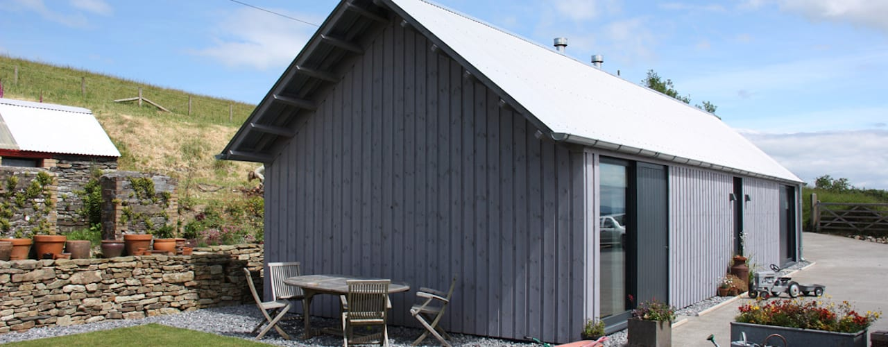 New Barn - Felindre:   by Rural Office for Architecture