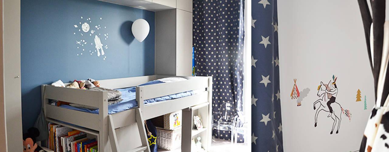 Duplex Boulogne / 120 m² Chambre d'enfant moderne par A comme Archi Moderne