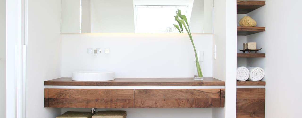 Eva Lorey Innenarchitektur Salle de bain minimaliste