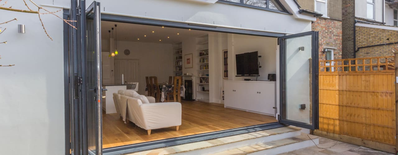 Extension in Sheen, SW14 Casas modernas de TOTUS Moderno