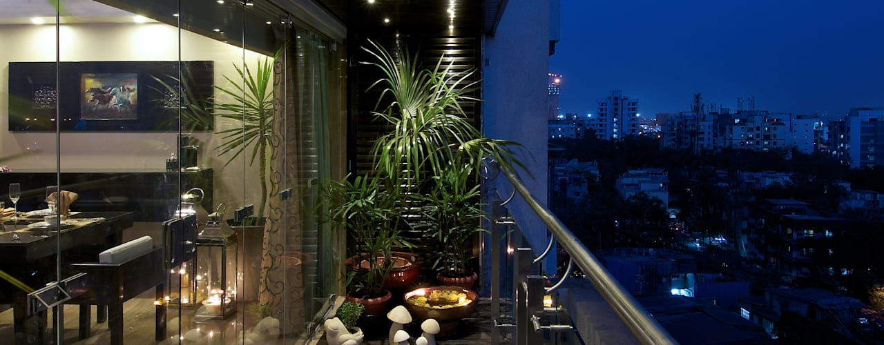 Modern style balcony, porch & terrace by ZERO9 Modern
