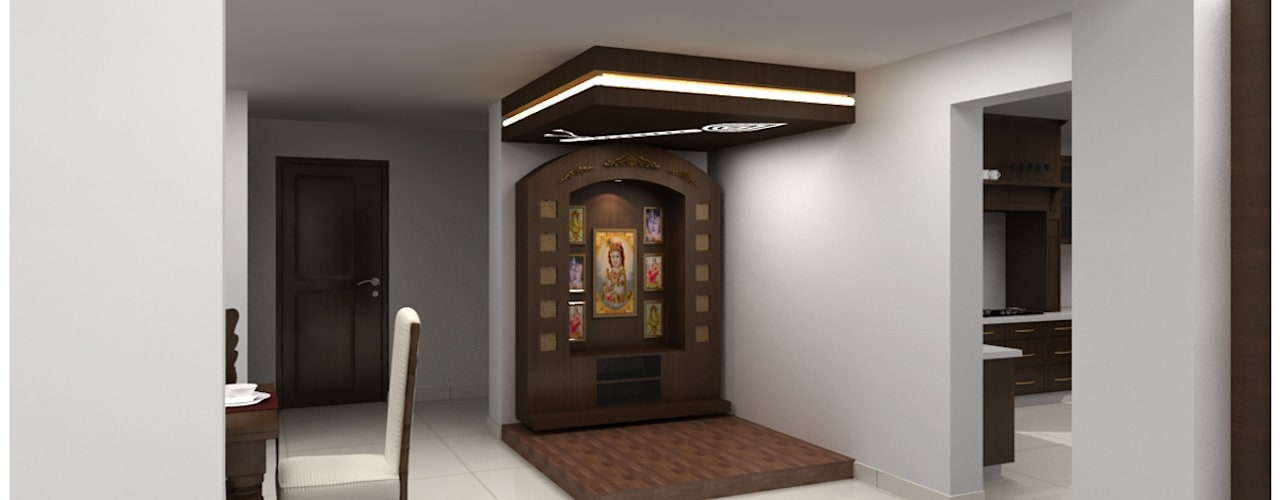 6 Simple Ideas To Design A Pooja Room At Home