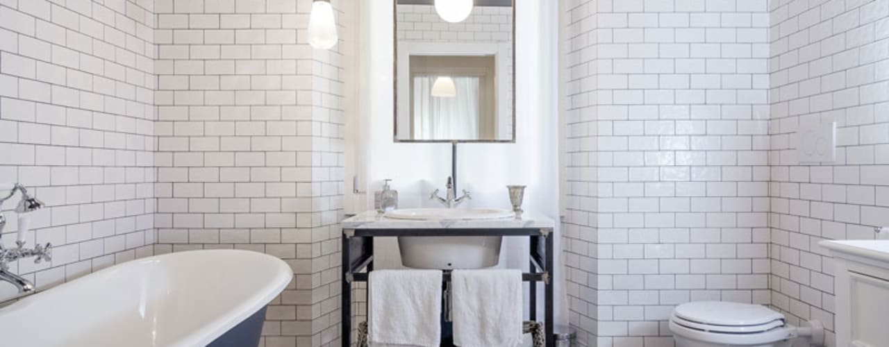 NOMADE ARCHITETTURA E INTERIOR DESIGN Industrial style bathroom