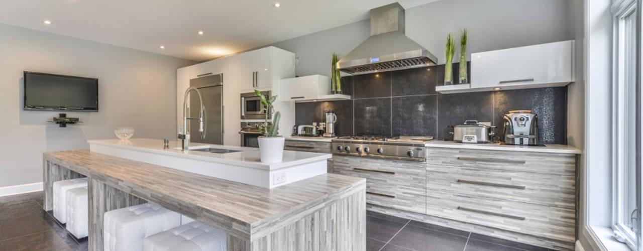 مطبخ ذو قطع مدمجة تنفيذ Grange México