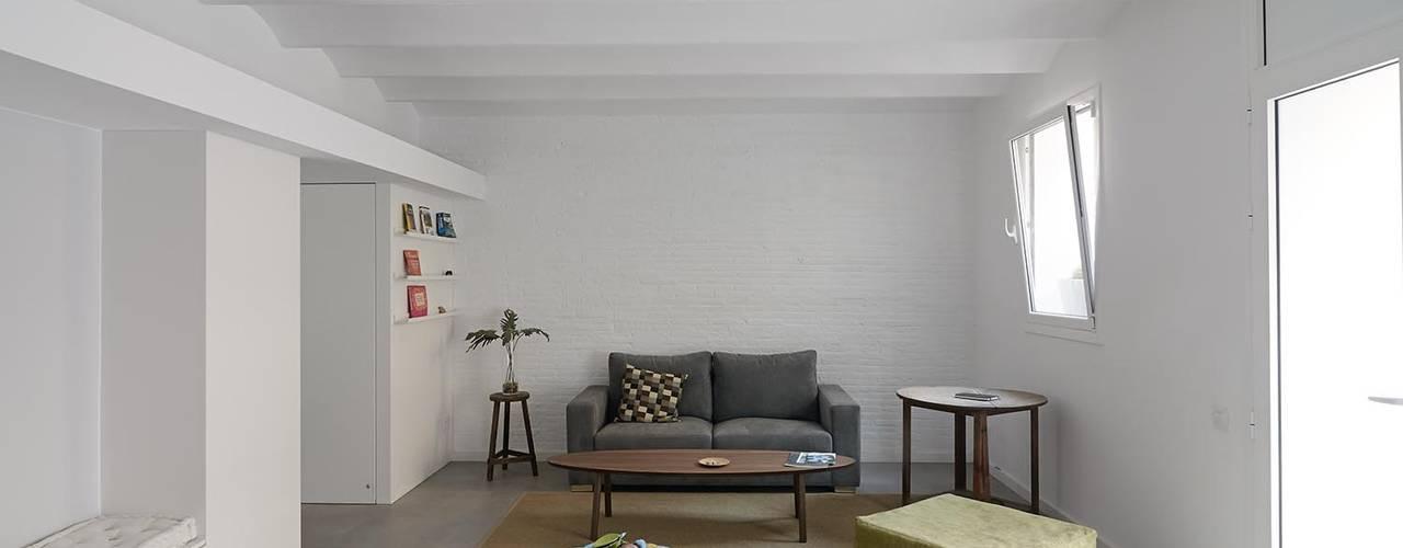 Livings de estilo  por AFarquitectura