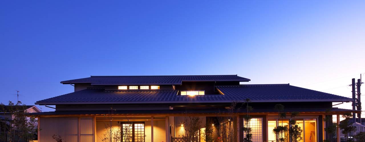 Projekty, nowoczesne Domy zaprojektowane przez やまぐち建築設計室