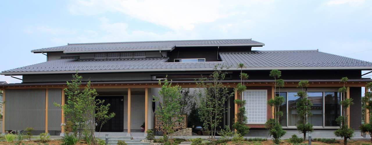 Rumah Modern Oleh やまぐち建築設計室 Modern