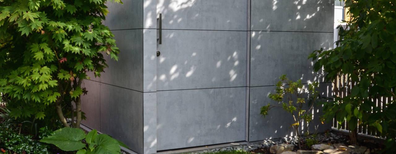 gartenhaus @gart zwei - Augsburg Moderner Garten von design@garten - Alfred Hart - Design Gartenhaus und Balkonschraenke aus Augsburg Modern