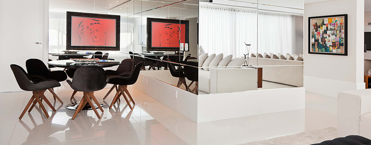 Cliente F Salas de jantar modernas por Link Interiores Moderno