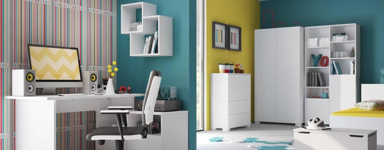 Jugendmöbel Minimalistische Kinderzimmer von Möbelgeschäft MEBLIK Minimalistisch