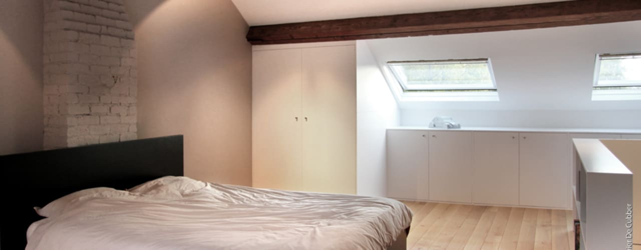 Olivier De Cubber - Architecture d'intérieur, design & décoration: modern tarz , Modern
