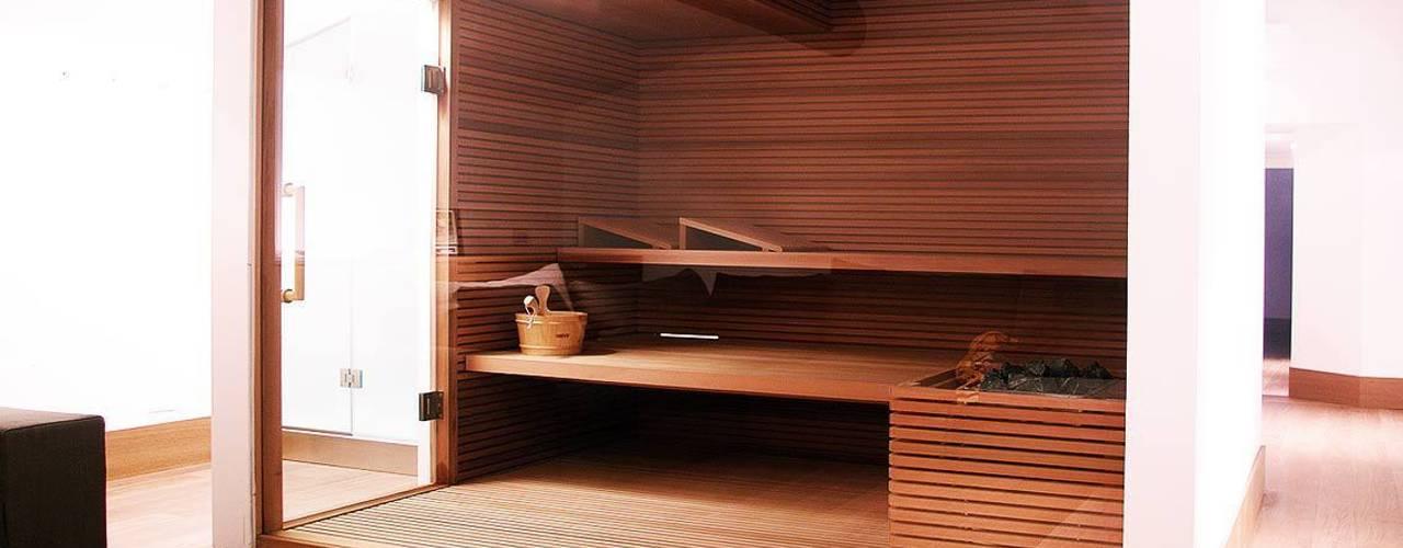 Blumaxx Wellness Saunas Acabado en madera
