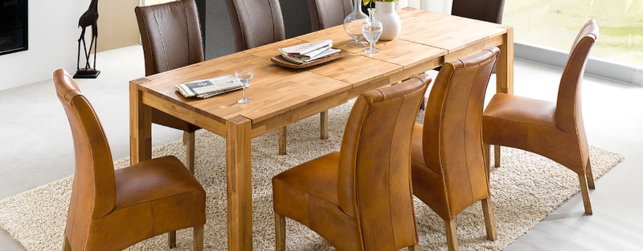sch ne massivholz esstische aus detmold. Black Bedroom Furniture Sets. Home Design Ideas