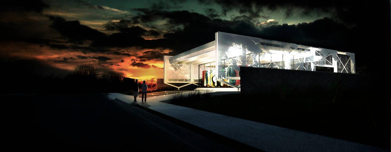 Maisons de style  par MOB Arquitetos