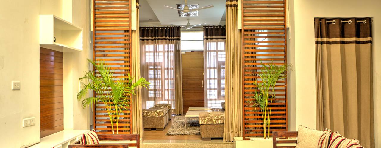 Casas modernas: Ideas, diseños y decoración de Studio An-V-Thot Architects Pvt. Ltd. Moderno