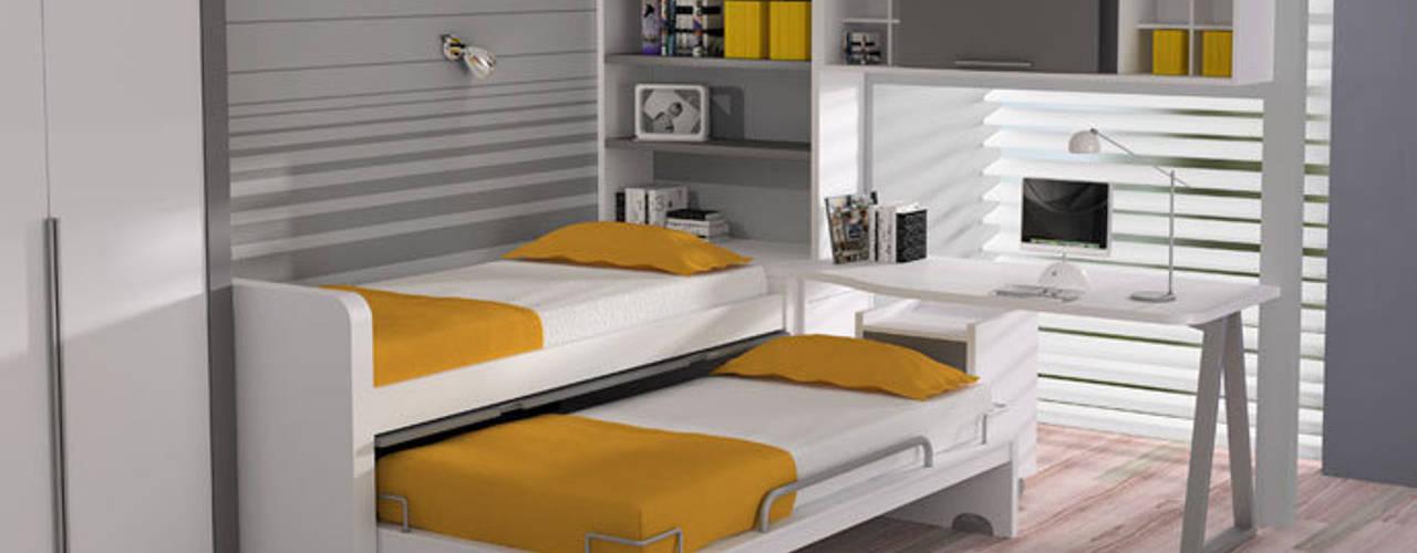 Dormitorios infantiles de estilo moderno por Sofás Camas Cruces