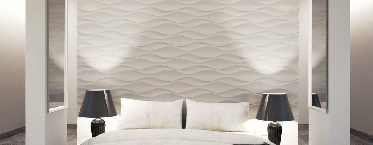 3D Wandpaneele   Design Nr. 24 FLOW: Moderne Schlafzimmer Von Loft Design  System Deutschland