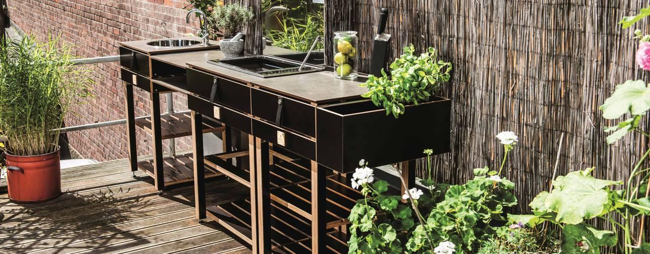 Die modulare Outdoorküche Care OCQ - Outdoor Cooking Queen Balkon, Veranda & TerrasseMöbel