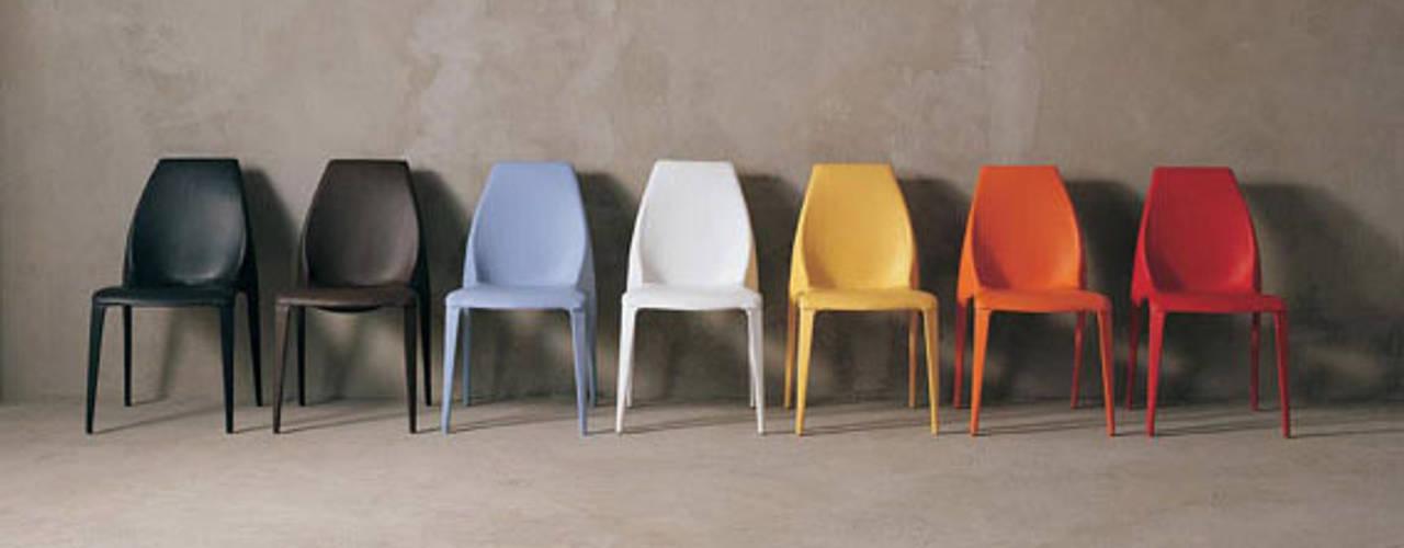 Beluga Plastic Chair par 吉野 利幸