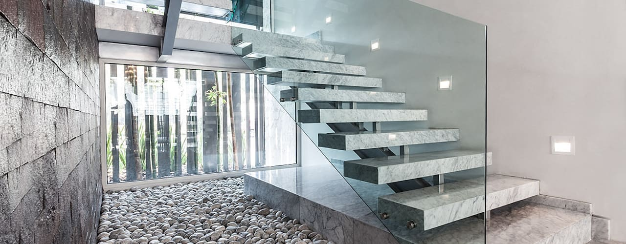 40 escaleras de interior muy modernas e innovadoras - Fotos de escaleras modernas ...