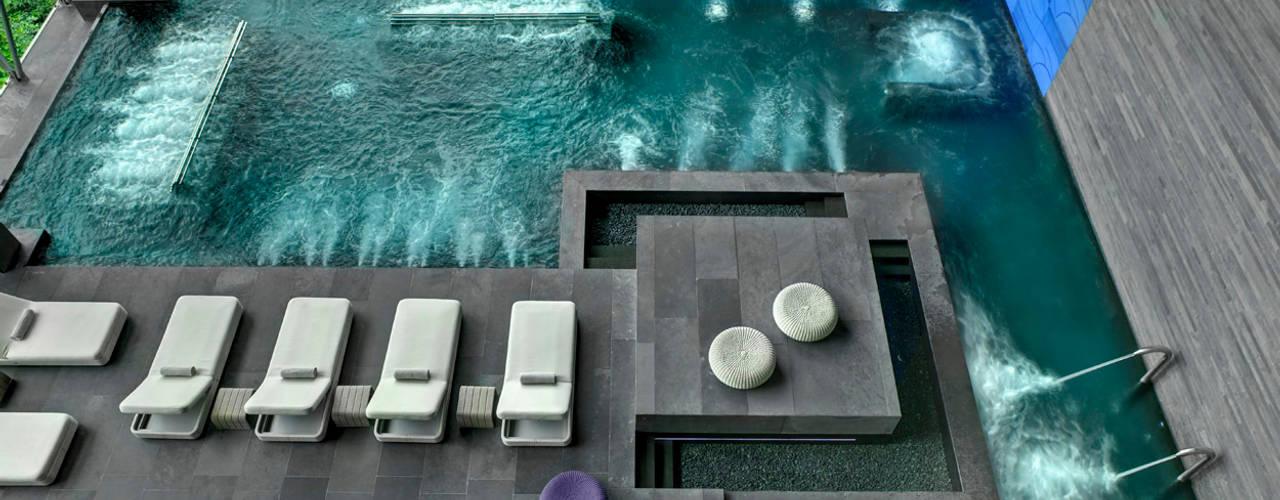Therma Spa by Vidalta Spa phong cách hiện đại bởi Serrano Monjaraz Arquitectos Hiện đại