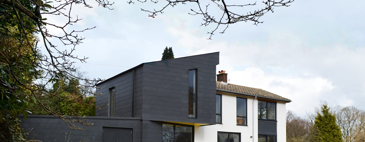 Transforming a 1960s Detached Property, Haslemere, Surrey by ArchitectureLIVE Modern