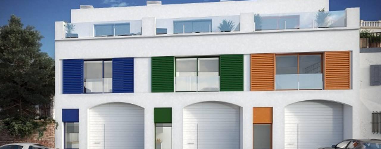 Vista de fachada: Casas de estilo  de Gramil Interiorismo II - Decoradores y diseñadores de interiores