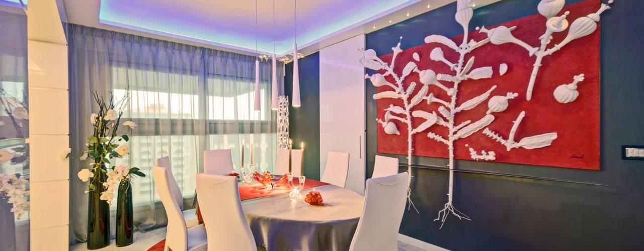 modern Dining room by studiodonizelli