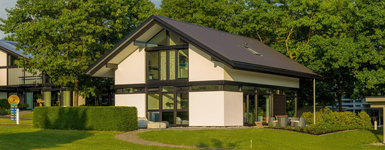 Projekty,  Domy zaprojektowane przez HUF HAUS GmbH u. Co. KG, Nowoczesny