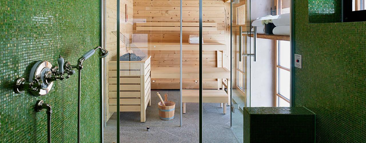 Skyfall Sauna Спа в скандинавском стиле от Architectural Interiors + Superyacht Photographer Скандинавский