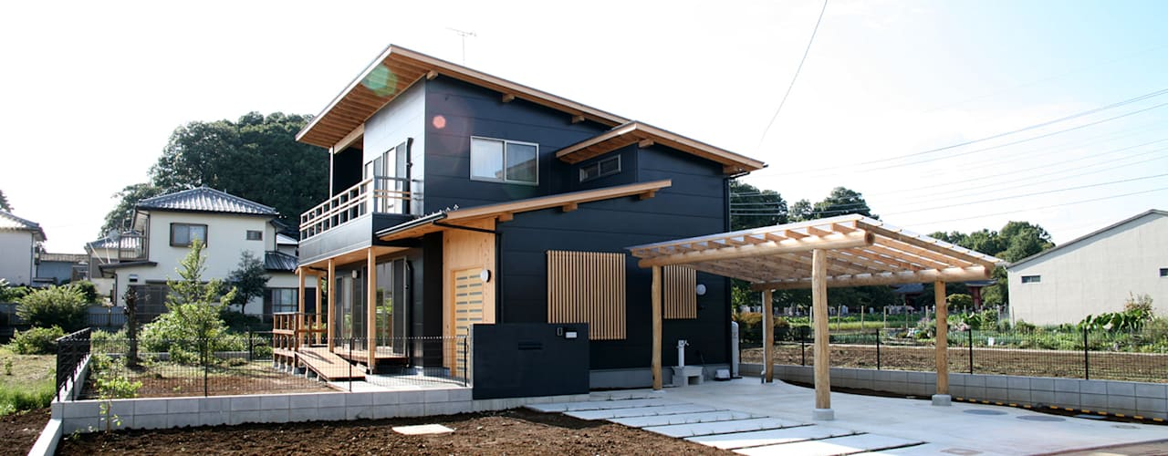 Eclectic style houses by 八島建築設計室 Eclectic