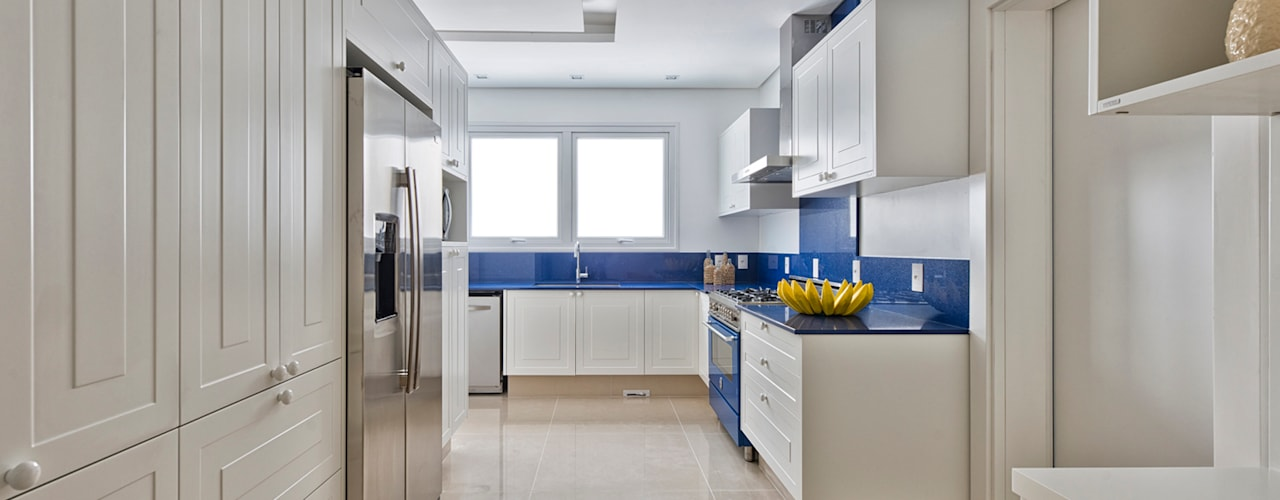 مطبخ تنفيذ Samara Barbosa Arquitetura