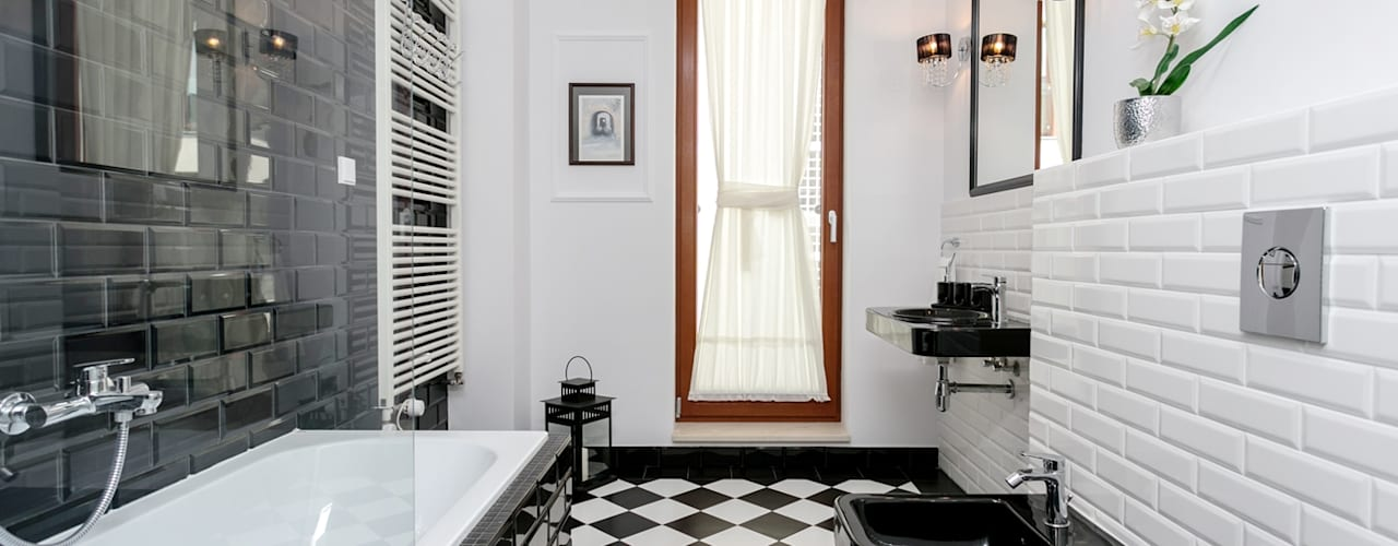 Michał Młynarczyk Fotograf Wnętrz Scandinavian style bathroom
