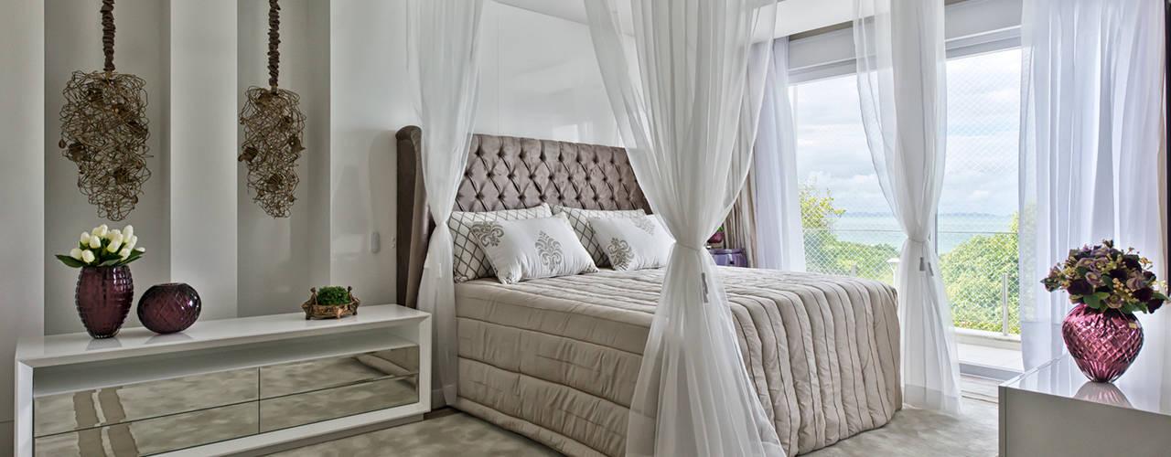 Habitaciones de estilo  por Samara Barbosa Arquitetura