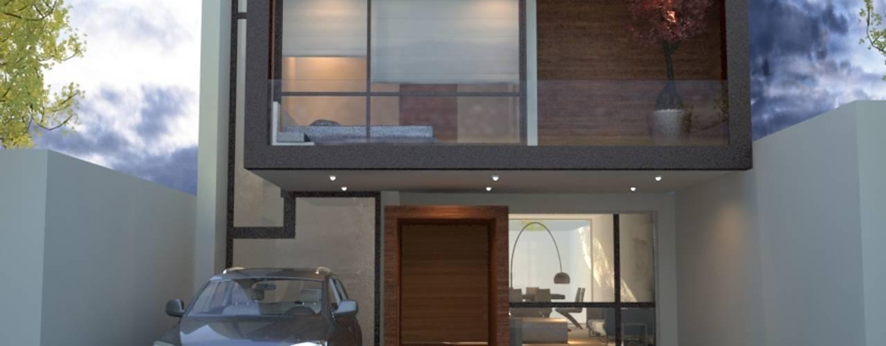 Maisons modernes par Xome Arquitectos Moderne