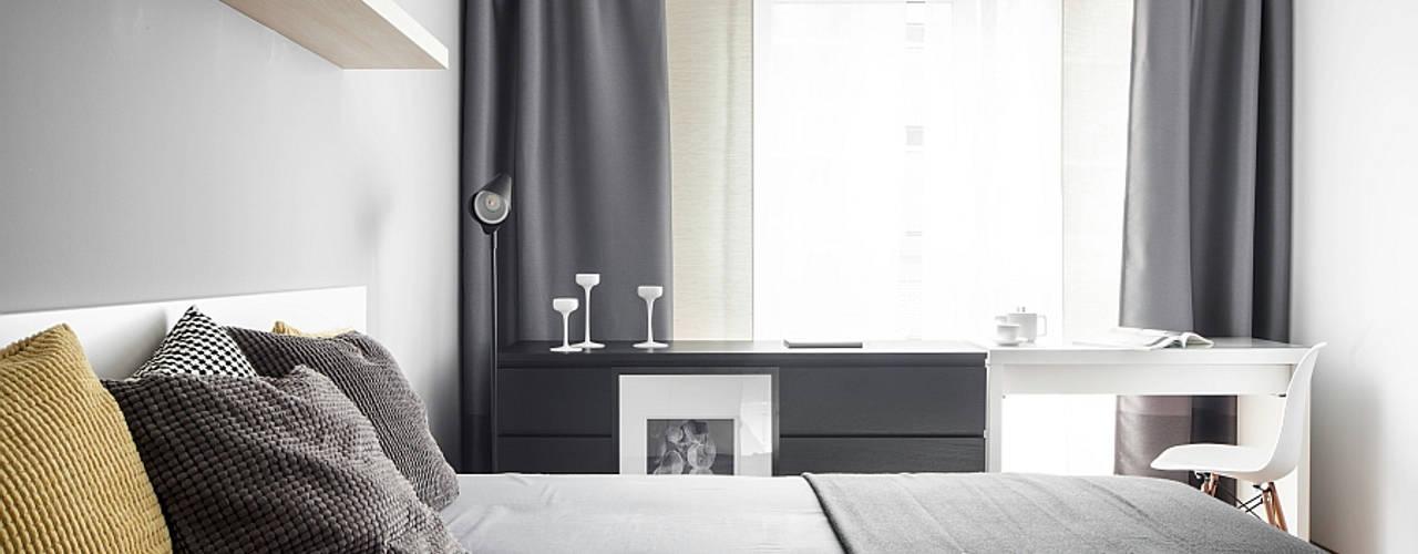 Modern style bedroom by głodni STYLU pracownia projektowa Modern