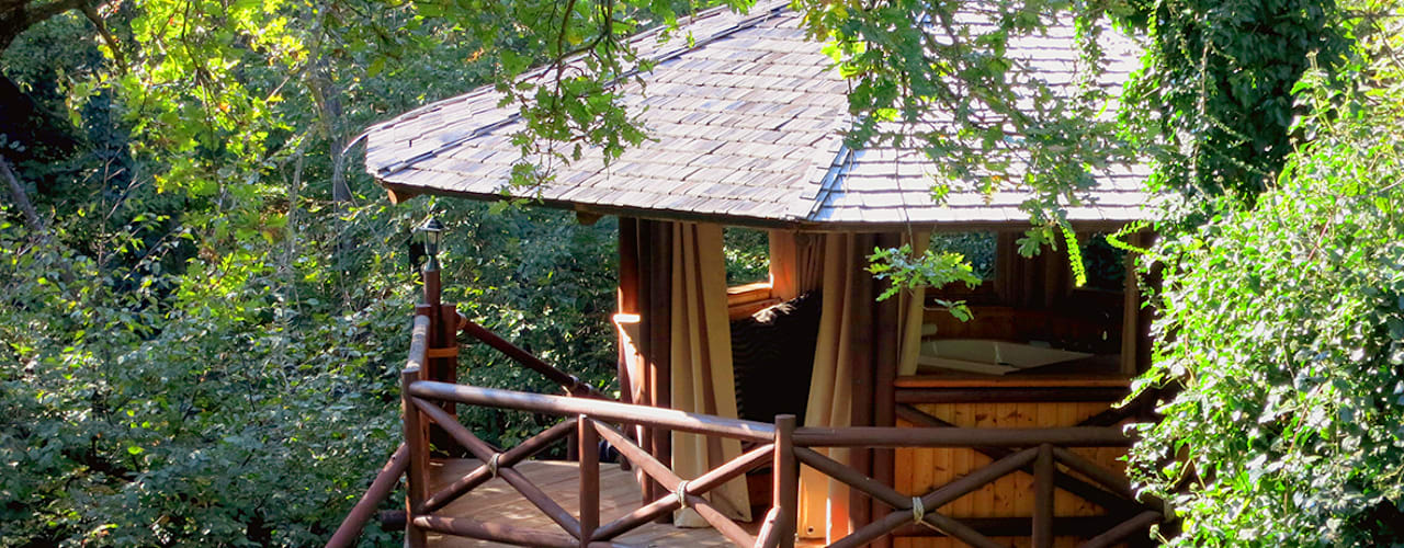 Casas de estilo  de Tree Top Builder, Tropical