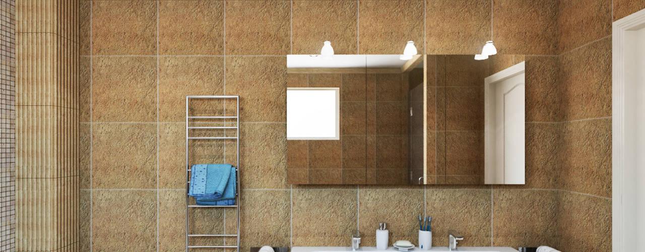 Master Bathroom Bathroom by Hampstead Design Hub