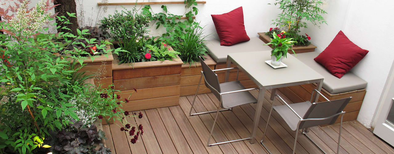 Jardins  por Fenton Roberts Garden Design, Moderno