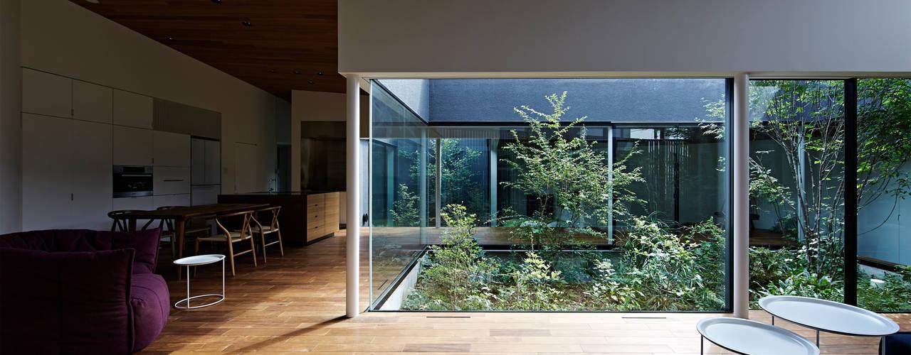 Garten von 石井秀樹建築設計事務所, Modern
