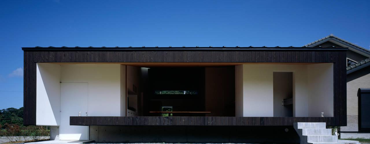 鋸南の家 モダンな 家 の 石井秀樹建築設計事務所 モダン