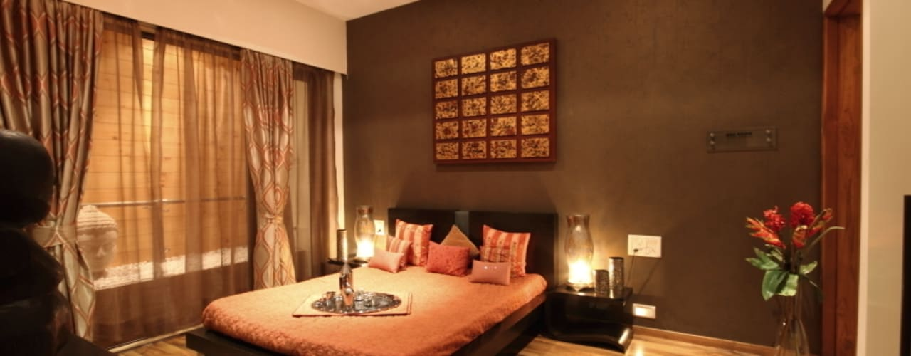 RNA GRAND 3BHK Modern houses by shahen mistry architects Modern