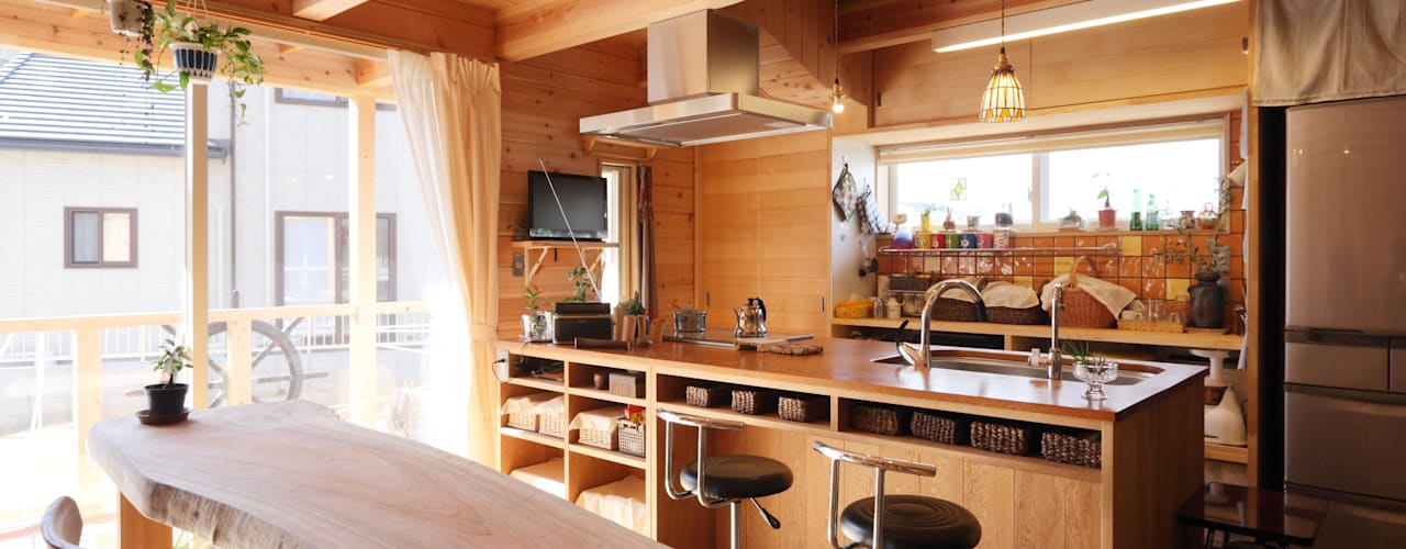 Country style kitchen by ATELIER TAMA Country