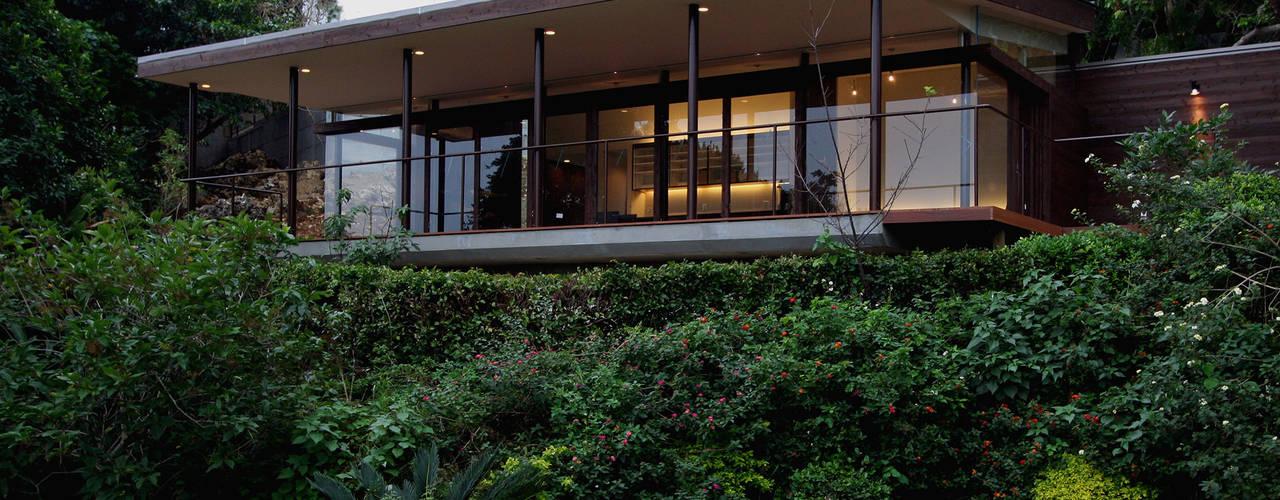 Cafe 森のテラス+茶室: InOUT architects/インアウトアーキテクツが手掛けた商業空間です。