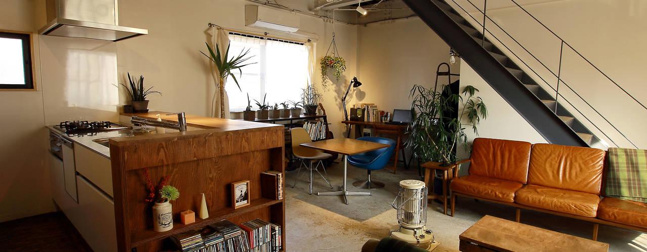 テナントビルの住宅コンバージョンBT-house の 建築計画網・大系舎 一級建築士事務所