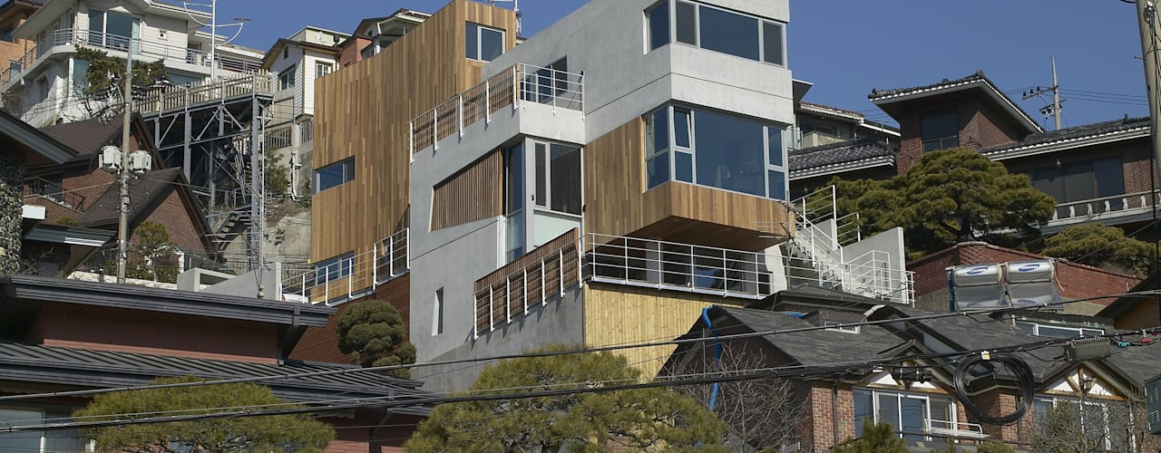 House 566 Modern Houses by 서인건축 Modern