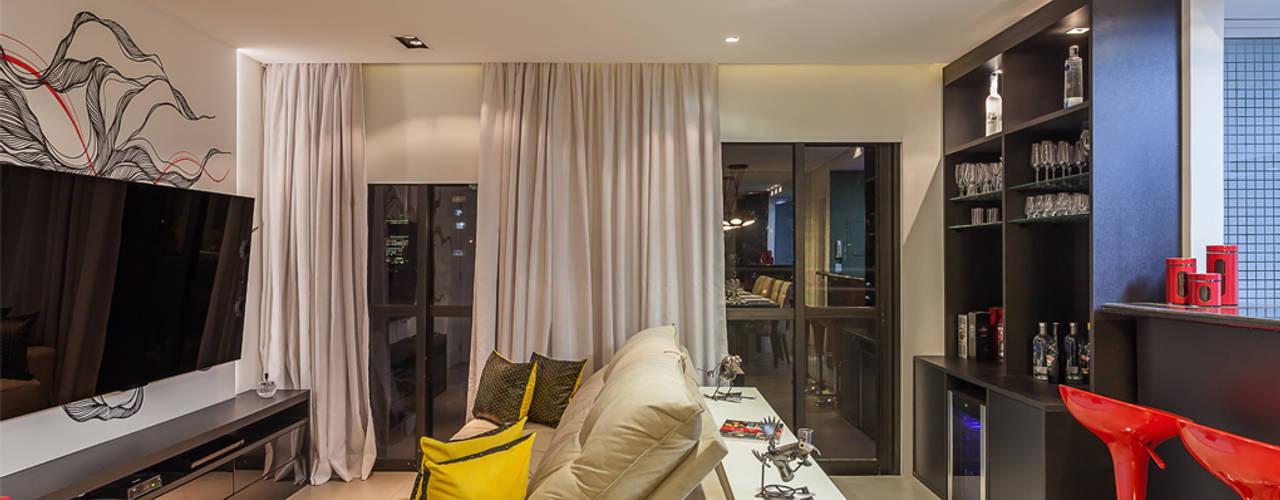 Livings de estilo moderno de Raduan Arquitetura e Interiores Moderno