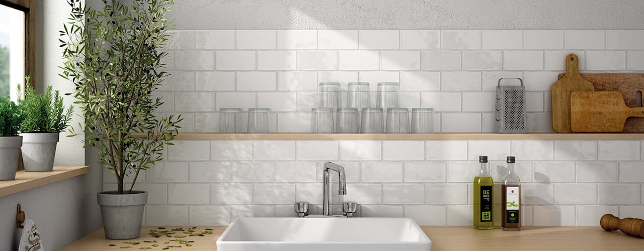 Kitchen by Equipe Ceramicas, Rustic