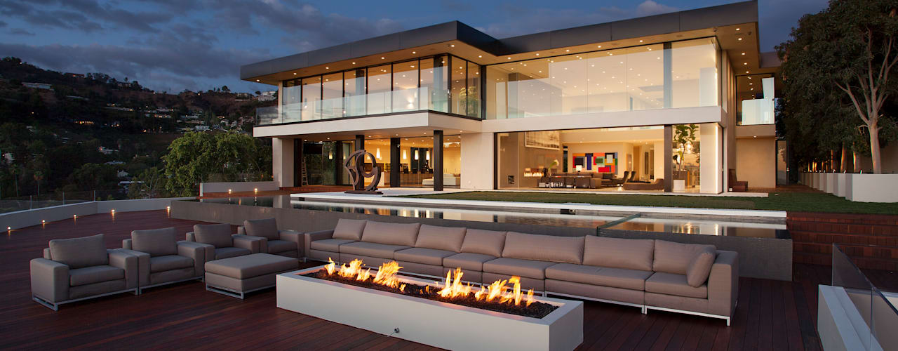 SUNSET STRIP RESIDENCE โดย McClean Design โมเดิร์น