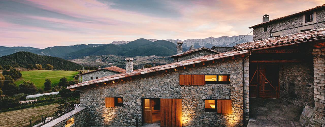 de style  par dom arquitectura, Rural